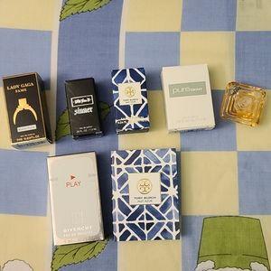 Deluxe sized mini perfumes